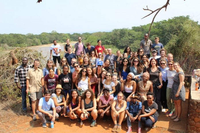 Group picture of Sustainable Development Living Lab edition 2019 - South Africa - Ndumo Game Reserve