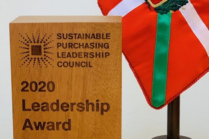 2020 SPLC Leadership Award - Basque government